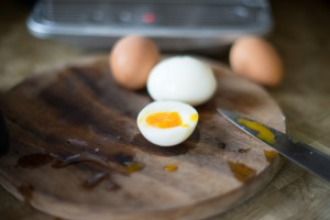 Gut dazu passen gekochte Eier. (pp)