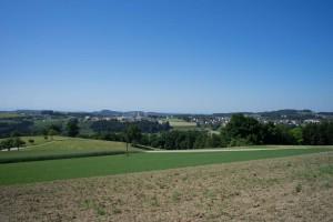 Ausblick auf Pregarten (pp)
