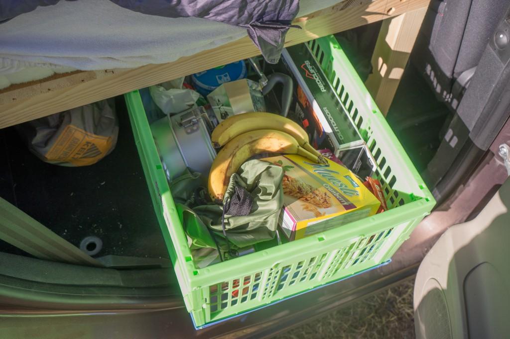 Camping Van - Küche