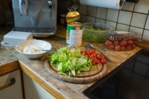 Gemüse waschen und schneiden (pp)