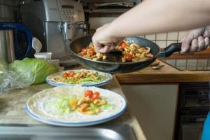 Tortillas befüllen (pp)