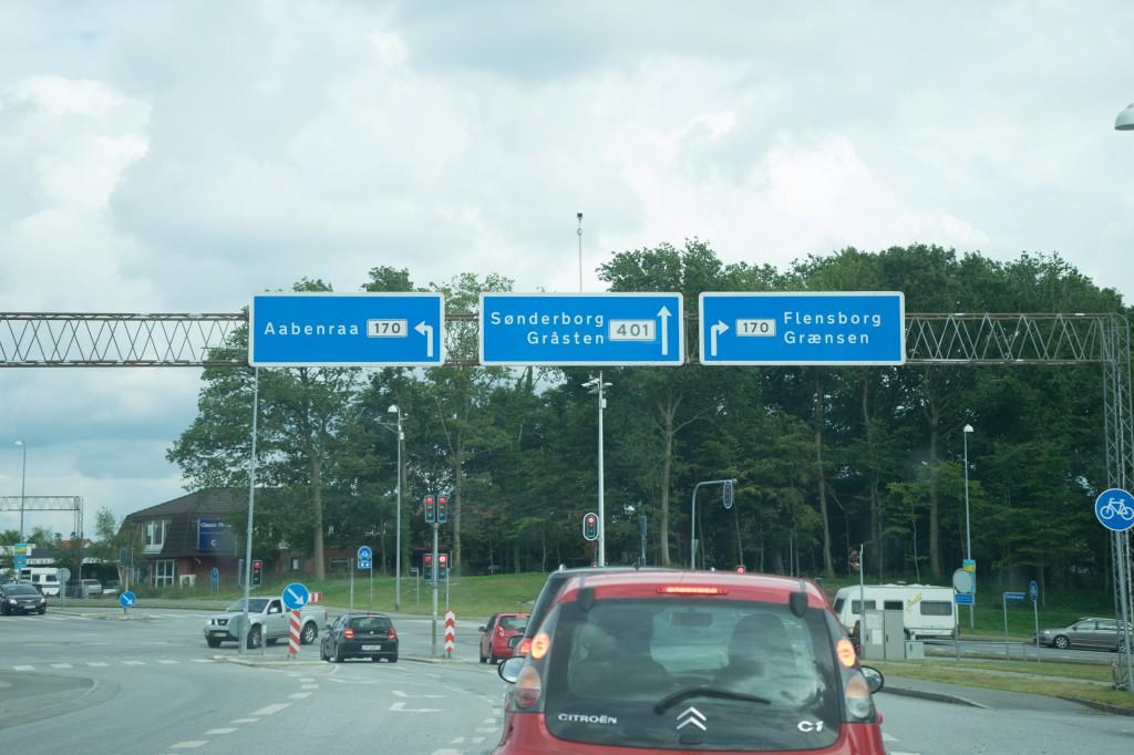 Auf nach Sønderborg zum Campingplatz! (pp/vh)