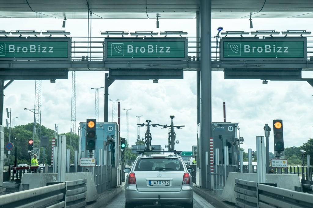 Fahrt über die Øresund-Brücke (vh/pp)