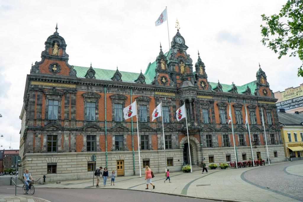 Ratshaus in Malmö (pp)