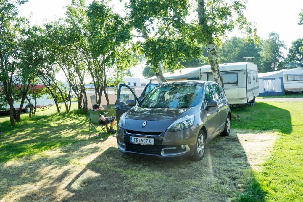 Unser Campingplatz in Nybro strand (vh)