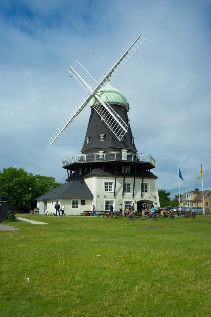Größte Windmühle auf Öland (vh)