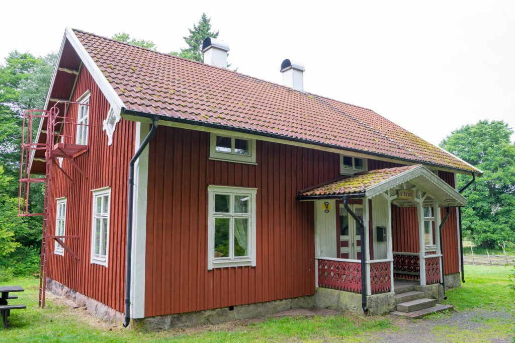 """Schutzhaus"" am Wanderweg. Da könnte man übernachten. (vh/pp)"