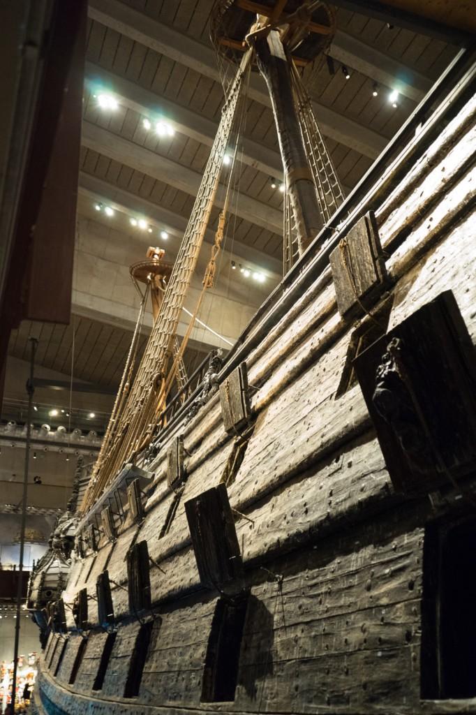 Die Kanonenluken des Vasa-Schiffes (pp)