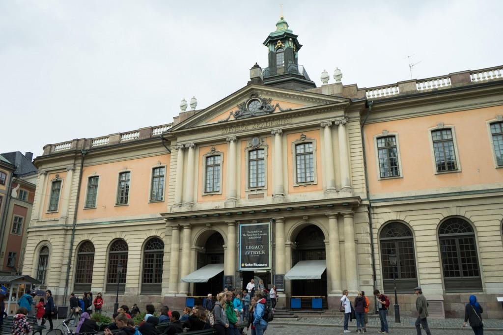 Nobelmuseum von außen (pp)
