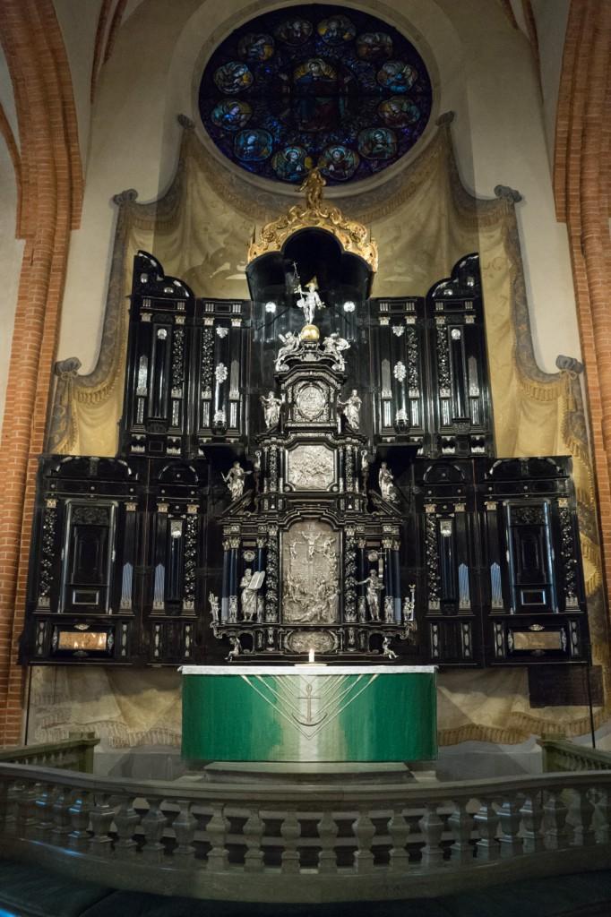 Altar im Stockholmer Dom (pp)