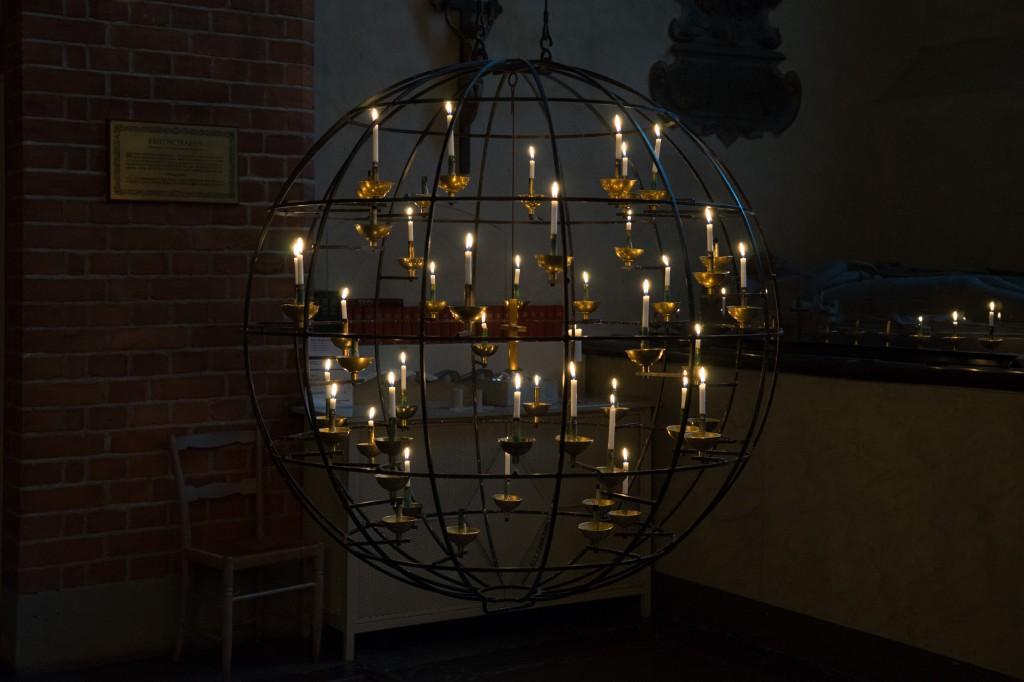 Schöne Kerzenkugel (pp)