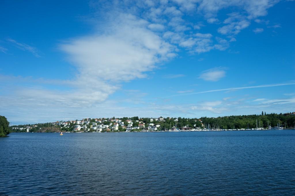 Stockholm vom Boot aus (vh/pp)
