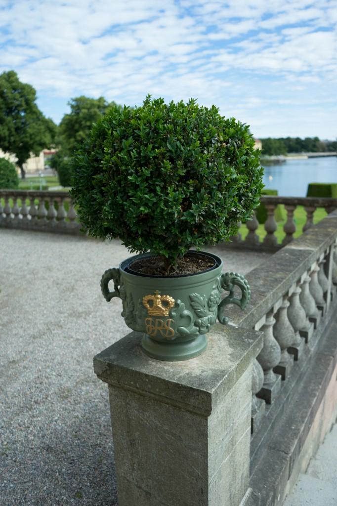 Im Park vom Schloss Drottningholm (vh)