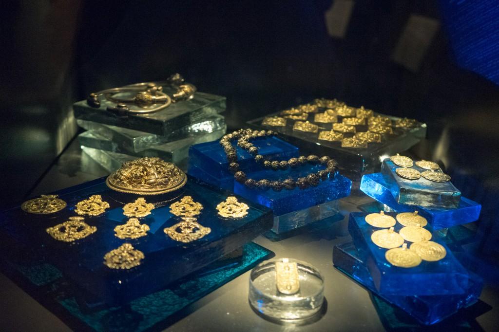 Schmuck von Wikinger-Ausgrabungen (vh)