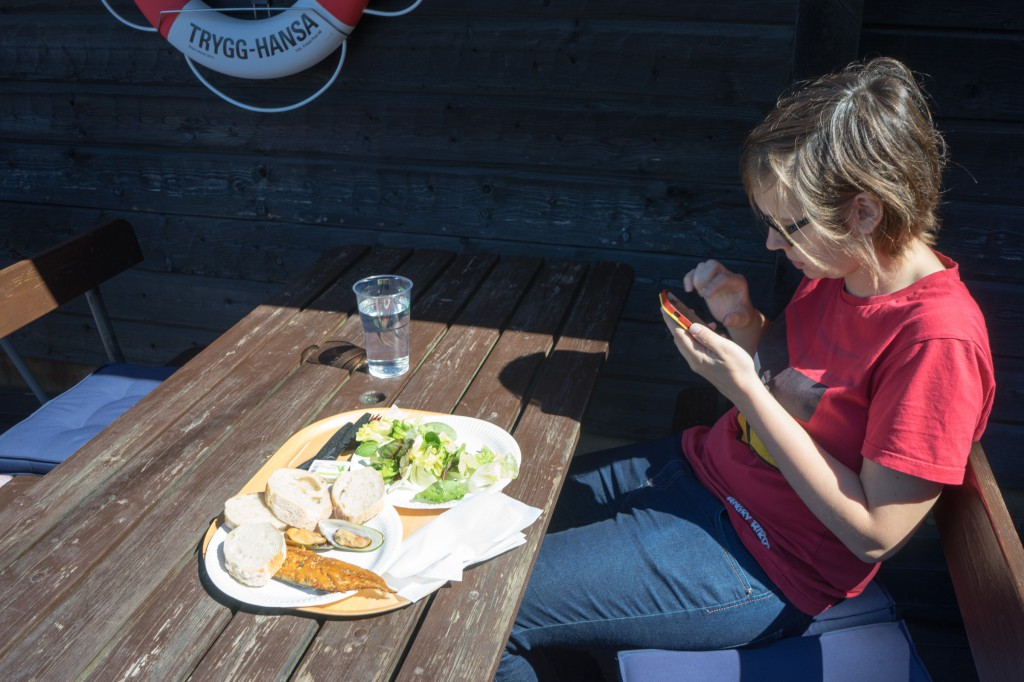Mittagessen auf Fjäderholmen (pp)