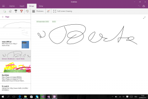 My grandmother uses OneNote!