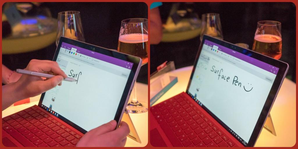 Die neue Surface Pen im Einsatz (pp)