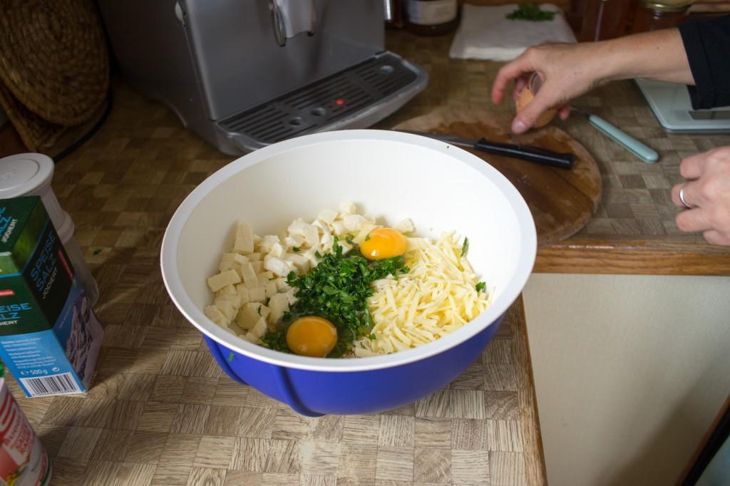 Eier dazu geben (vh)