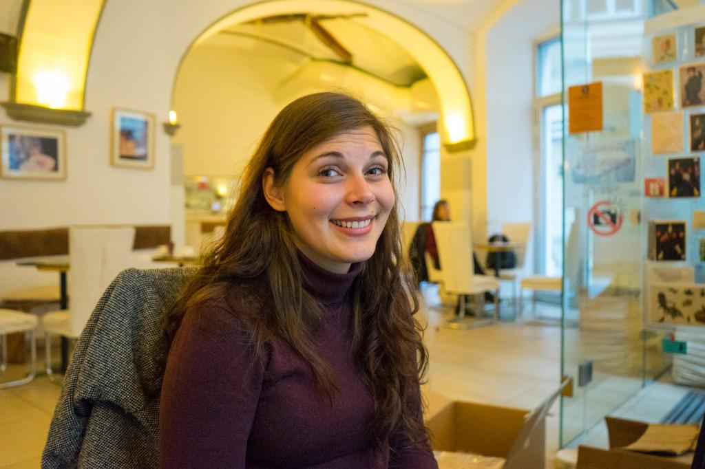 Katzenfreundin Magda (pp)