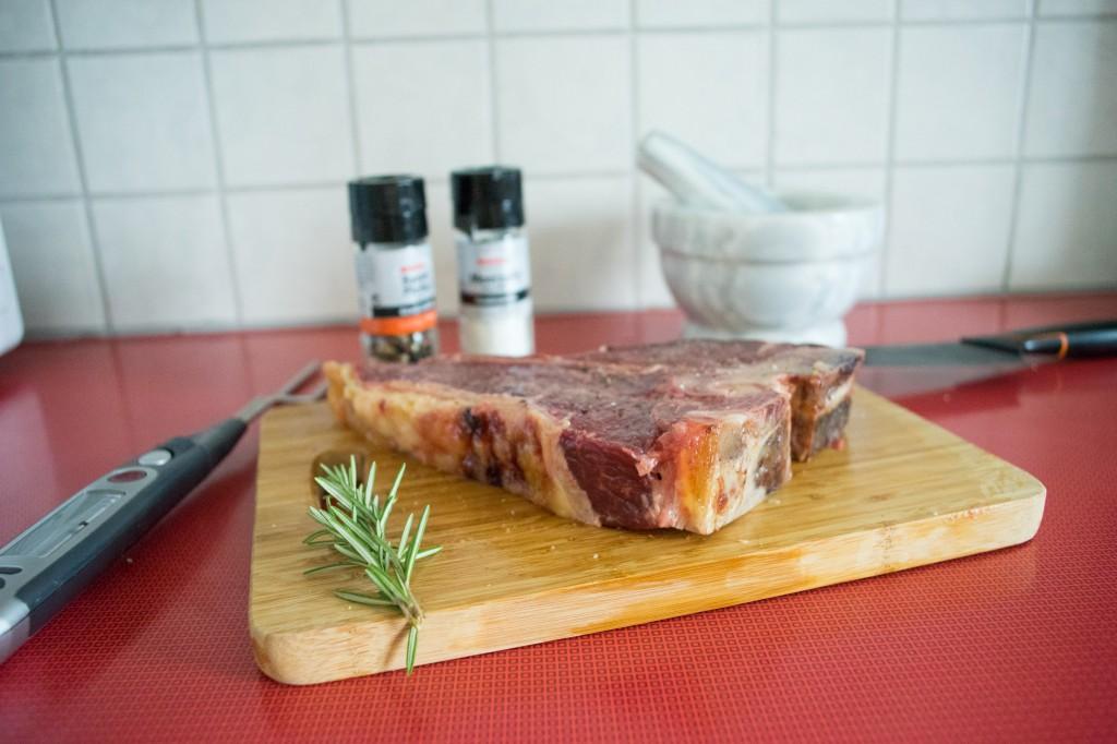 Ein unglaublich schönes Steak (vh/pp)
