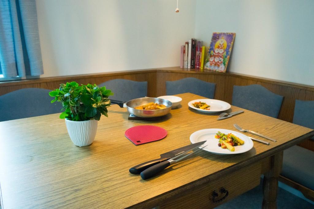 Unser gedeckter Tisch (vh/pp)