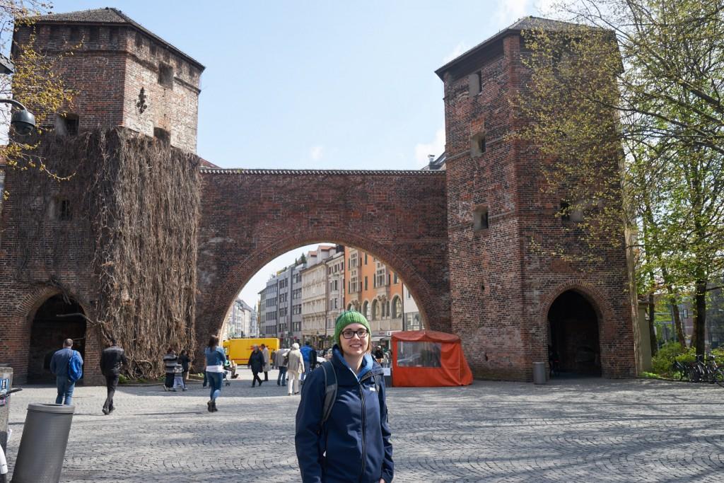 Unser Startpunkt: Sendlinger Tor (pp)