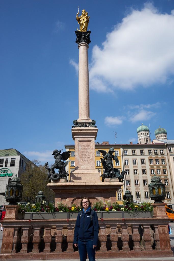 Eine motivierte Touristin (pp)