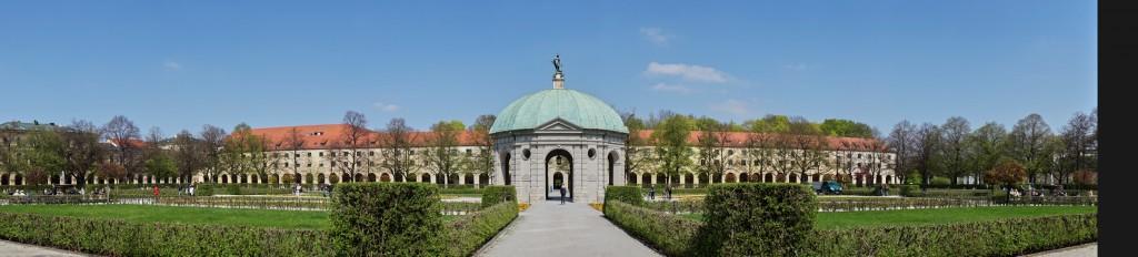 Dianatempel im Hofgarten (vh)