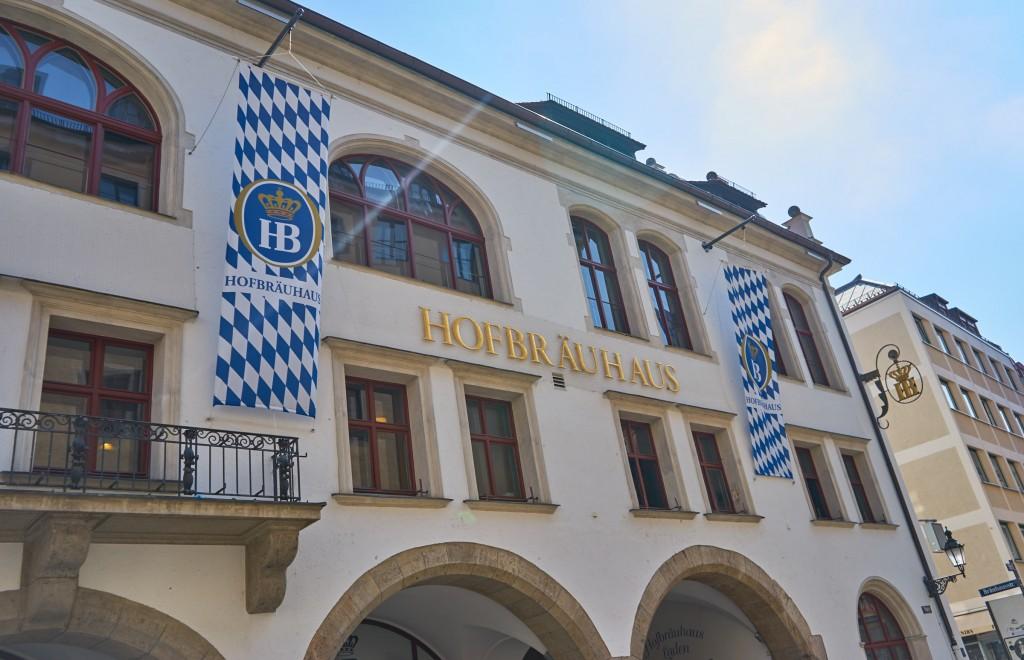 Das berühmte Hofbräuhaus (vh)