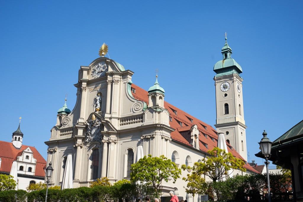 Die Heiliggeistkirche (pp)