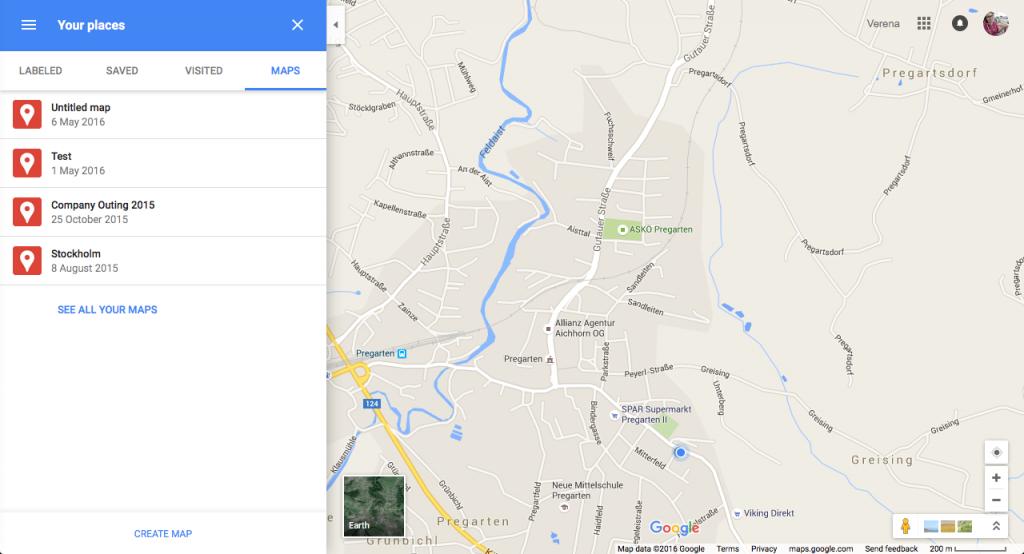 Karten in Blog Posts einbinden mit Google Maps