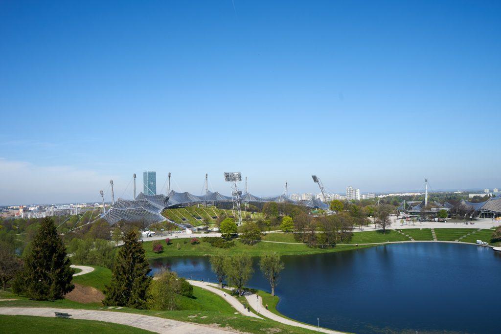 Ausblick auf den Olympiapark.