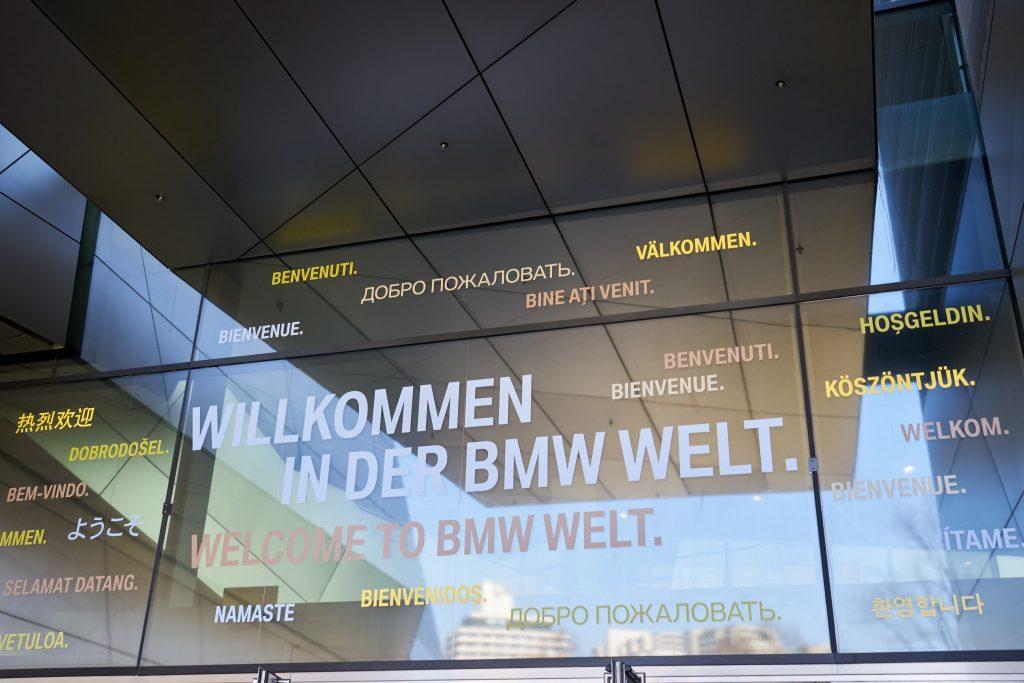 Willkommen in der BMW Welt!