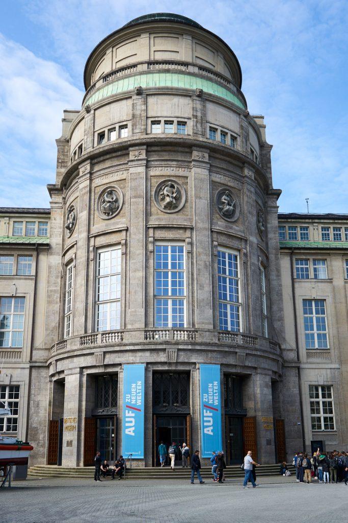 Das Deutsche Museum.