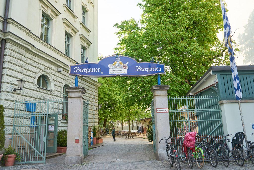 Biergarten Zum Franziskaner.