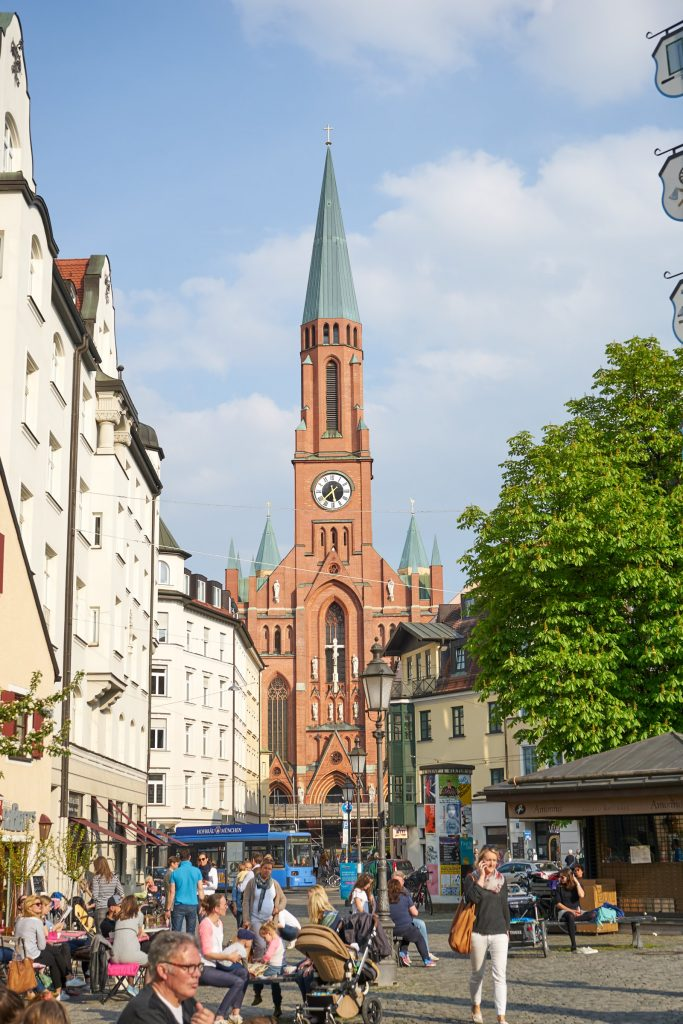 Eine der vielen Kirchen.
