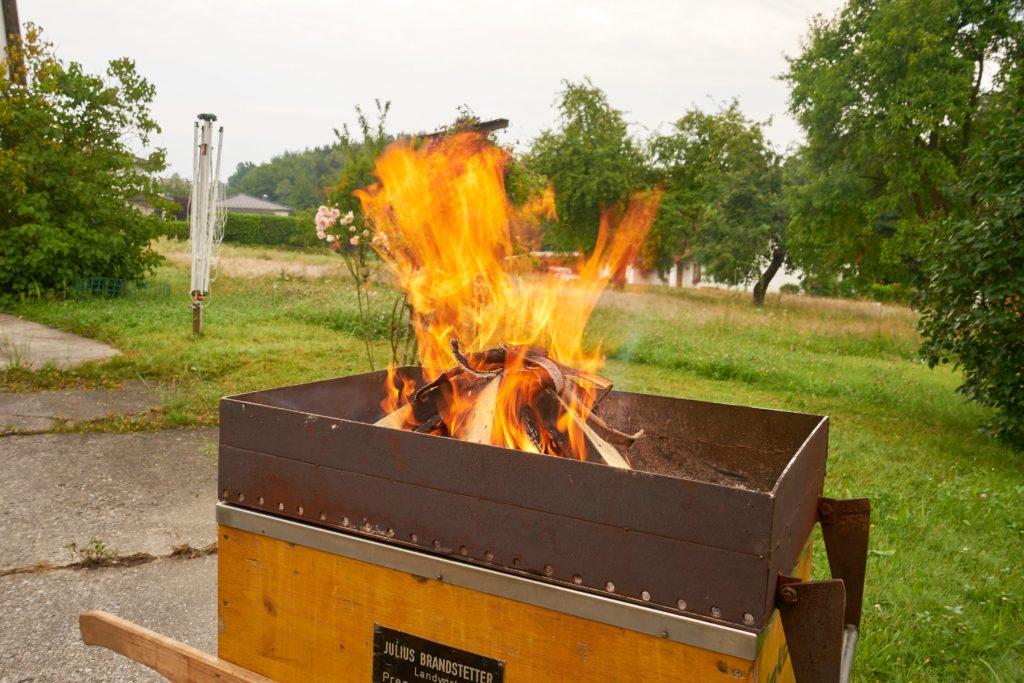 Und es brennt schon :)