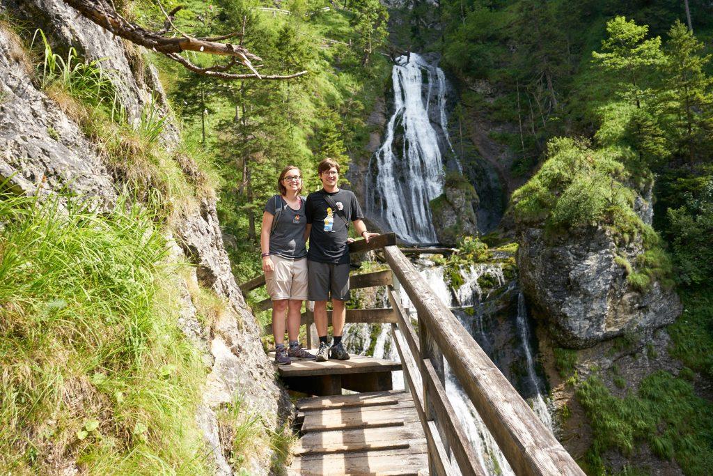 Wandern in der Wasserlochklamm Palfau.
