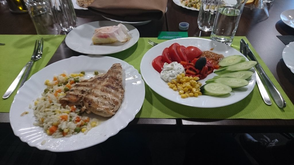 Essen in Sofia Bulgarien