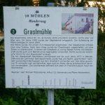Beschilderung des 10-Mühlenwanderweg - Graslmühle