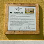 Beschilderung des 10-Mühlenwanderweg - Herrenmühle