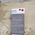 Infotafel in der Festung Kufstein