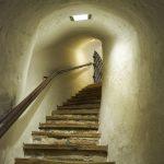 Eine Stiege in der Festung Kufstein