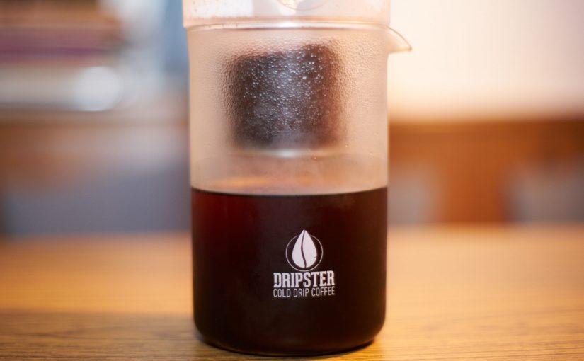 Erster Kontakt mit dem DRIPSTER Cold Brew Coffee Maker