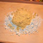 Roggenmehl mit Gelbzucker