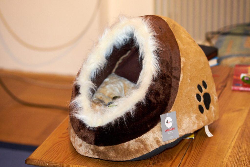 Eine Katzen-Kuschelhöhle.