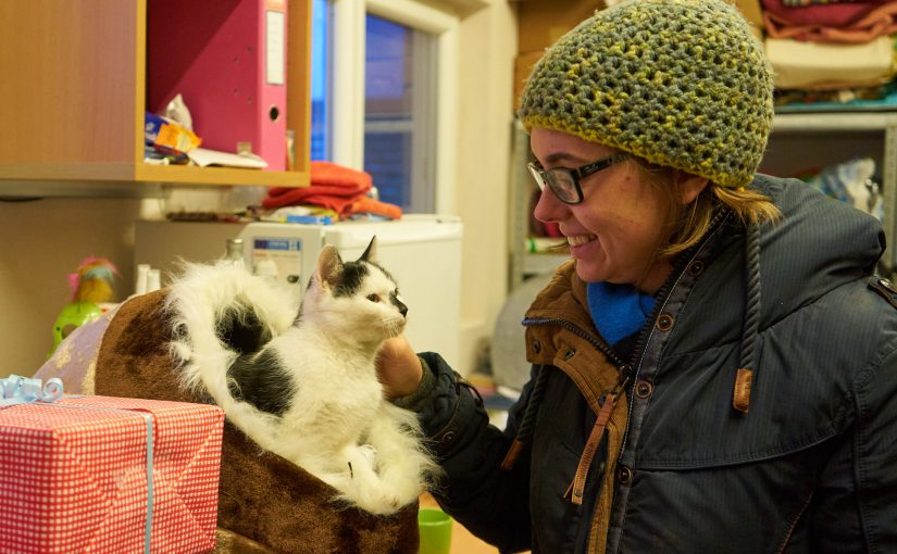 Besuch im Tierheim Freistadt (Weihnachtsaktion)