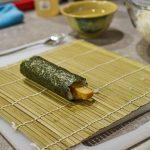 Meine erste Tamagoyaki Maki Rolle!