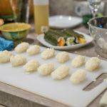Reiskugeln für die Nigiri und Gunkanmakis.