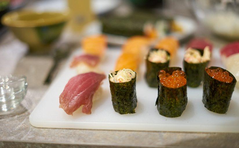 Sushi-Kurs im Izakaya